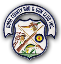 door county rod and gun club logo